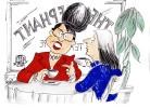 Sarah Palin Woos The Voter : A Cartoon