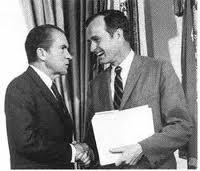 Bush and Nixon