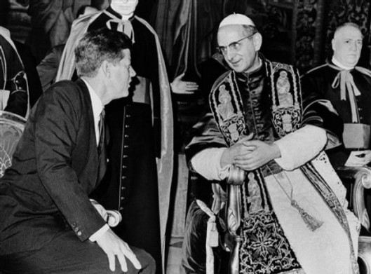 John F. Kennedy, Pope Paul VI