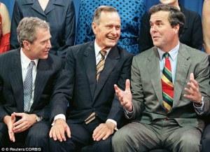 Papa Bush, Baby Bush, Jeb Bush
