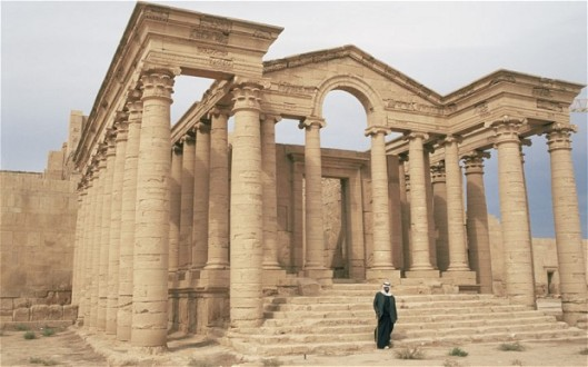 Hatra pre-christian at risk
