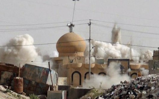 ISIS_mosques-blown-up tomb of jonah