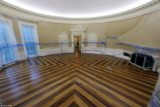 oval office awaits the bling