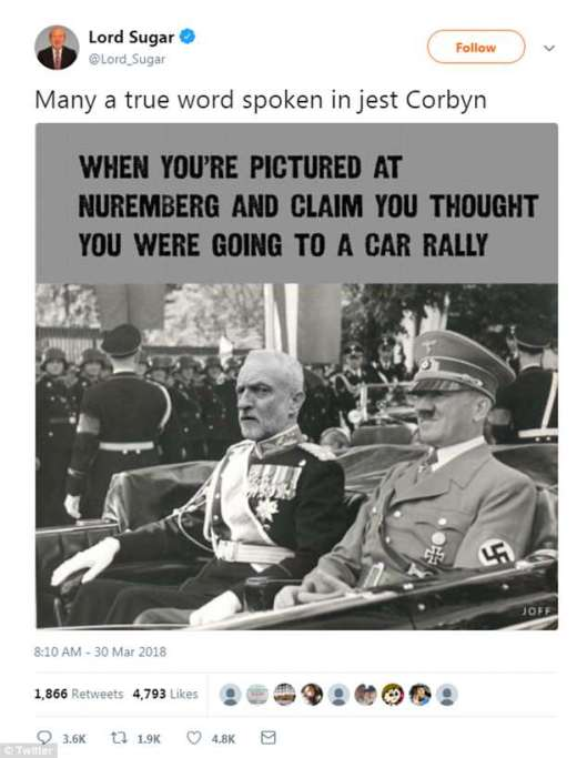 corbyn and hitler